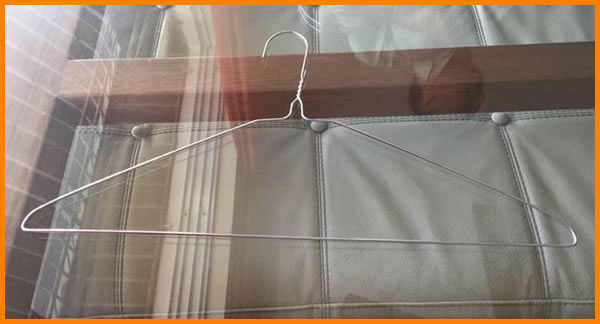 power coated T shirt wire Hanger