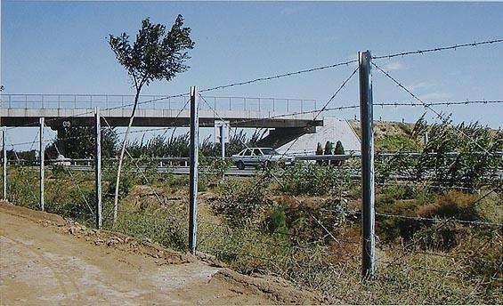 Barbed Wire installation
