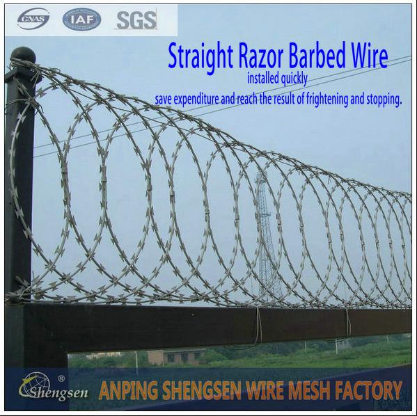 china shengsen razor barbed wire